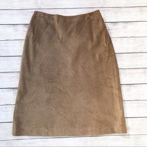 Brooks Brothers Skirt Size 10 Camel Color